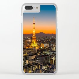 TOKYO 03 Clear iPhone Case