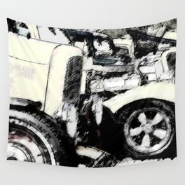 Hot Rods Wall Tapestry