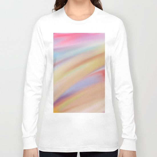 Watercolorful Flow Long Sleeve T-shirt
