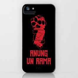 Anung Un Rama Design iPhone Case