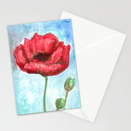 Poppy I Stationery Cards