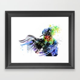 Hummingbird 4 Framed Art Print