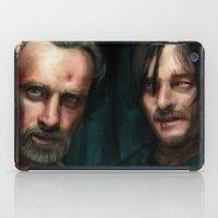 walking dead iPad Cases featuring Dead Walking by ChrisHdzArt