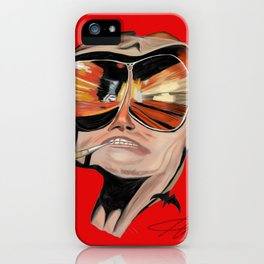 Ode to Bat Country iPhone Case