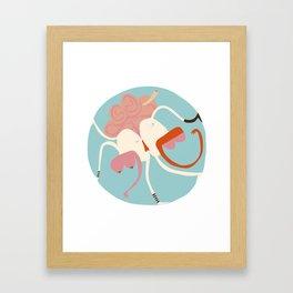 Entanglements 2 Framed Art Print