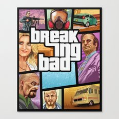 Breaking Bad: GTA  Canvas Print
