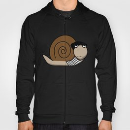 French Snail ~ Escargot Hoody