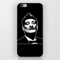 bill murray iPhone & iPod Skins featuring Bill Murray Special Edition  by Spyck