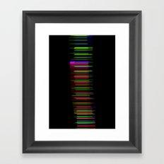 datadoodle 011 Framed Art Print