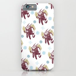 Merry Krampus iPhone Case