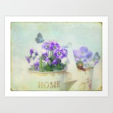 lovely spring Art Print