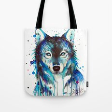 -Dark Wolf- Tote Bag