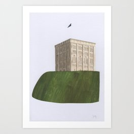 Norwich Castle Art Print