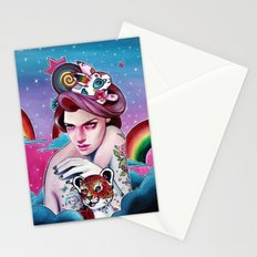In the Candy Clouds of the Sticker Kingdom Stationery Cards