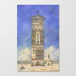 Am Wasserfall Canvas Print