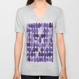 Ultra Violet Swatches Unisex V-Neck