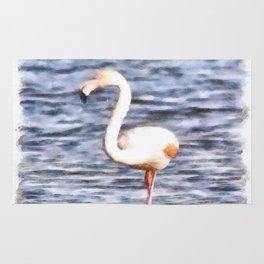 Just Like A Flamingo Rug