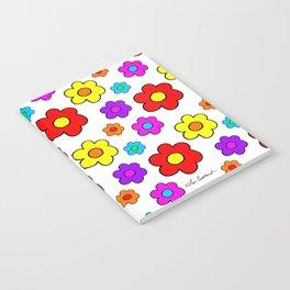 Pop Flowers Notebook