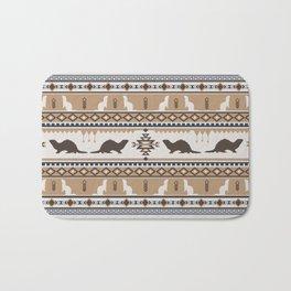 Boho Animals | Ferret tan Bath Mat