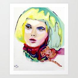 Helena by Varda Levy Art Print