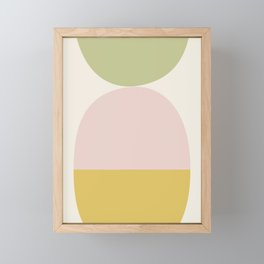 Balance Framed Mini Art Print