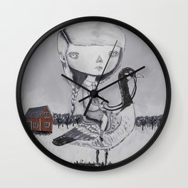 THE AUTUMN MIGRATIONS Wall Clock