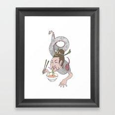 Noodles Framed Art Print