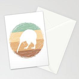 Retro Kiwi Bird Stationery Cards