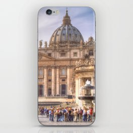 The Papal Basilica of the Saint Peter in the Vatican, Rome iPhone Skin