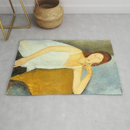 Amedeo Modigliani - Jeanne Hébuterne Rug
