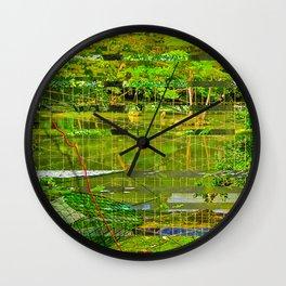 Landscape of My Heart (segment 3) Wall Clock