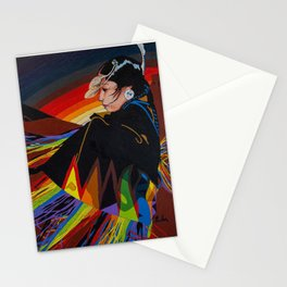 Shaw Dancer #1 Square Stationery Cards