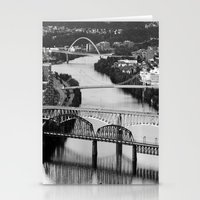 pittsburgh Stationery Cards featuring Pittsburgh bridges by Jaclyn Scott