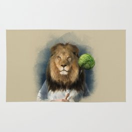 The lion's share Rug