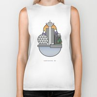 vancouver Biker Tanks featuring Vancouver by Ryan Molag Design & Photo