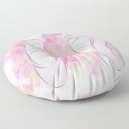 Pink Pointe shoes Floor Pillow
