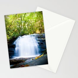Waterfall on Appalachian Trail Stationery Cards