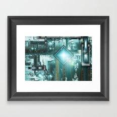 TRON the next generation Framed Art Print
