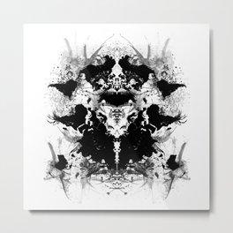 Rorschatlas Metal Print