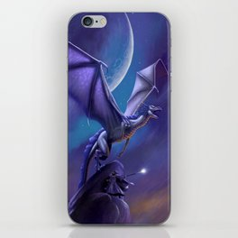 Dragon's Flight iPhone Skin
