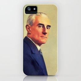Maurice Ravel, Music Legend iPhone Case