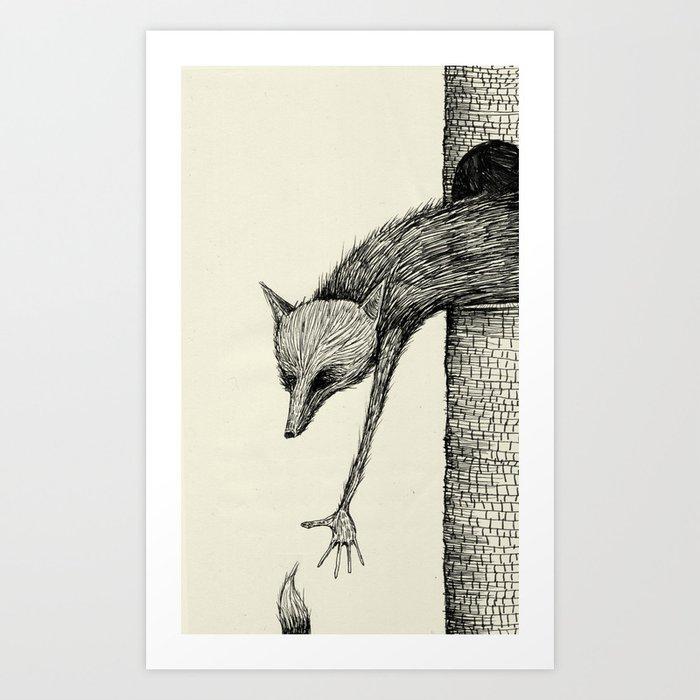 'You're Too Late' Art Print