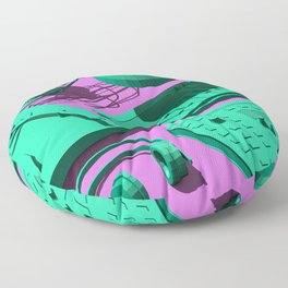 Low Poly Studio Objects 3D Illustration Floor Pillow