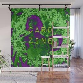 Caro Zine Wall Mural