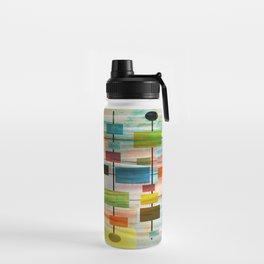 Mid-Century Modern Art 1.3 -  Graffiti Style Water Bottle