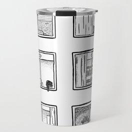 Every Window is A Story Travel Mug