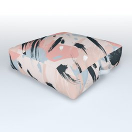 Pastel abstraction I Outdoor Floor Cushion