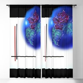 Abstract in perfection - Fertile Imagination Rose 3 Blackout Curtain