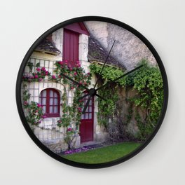 House of Roses Wall Clock