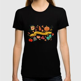 Stay Cozy in Autumn T-shirt